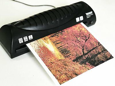Thermal Laminator Machine Paper Photo Laminating Hot Roller Office Supplies Home