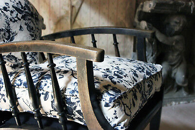 Antique Ebonised Philip Webb for Morris & Co Type Reclining Armchair c.1875
