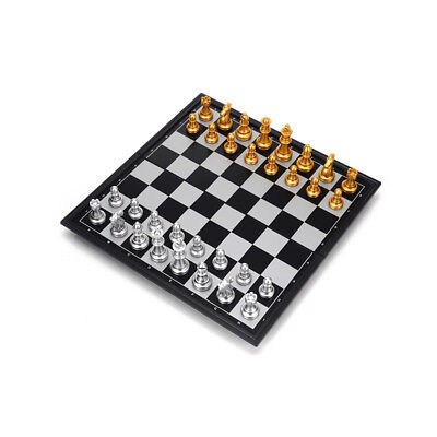 iBaseToy Magnetic Chess Checkers Backgammon Set Classic Chess Set