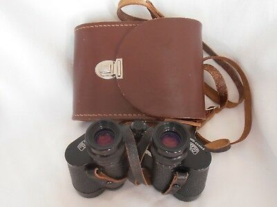 Carl Zeiss Jena Jenoptem Multi Coated 8 x 30 Binoculars & Case - Lovely View-out
