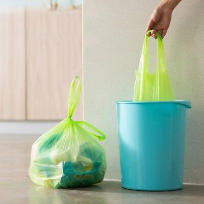 150pcs Small Trash Bags Colorful Rubbish Bags Bin bags for Office