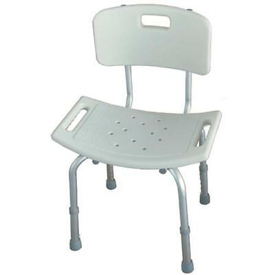 Shower seat with backrest - Stool for shower with backrest - Shower chair