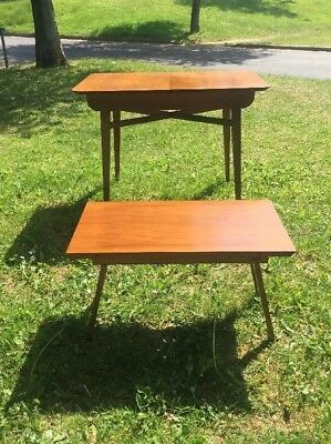 Beautility Extending Dinning Table Midcentury Retro Atomic Versatile Design