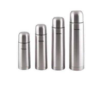 Stainless Steel Thermos Flask Hot Cold 350/500/750/1L Vacuum Tea Coffee Bullet