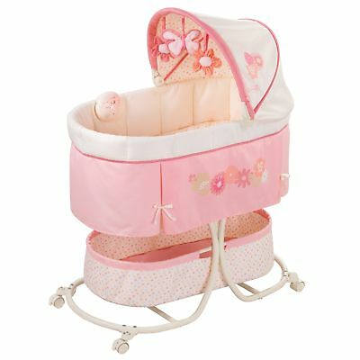 Summer Infant Soothe  Sleep Bassinet with Motion, Lila
