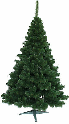 Luxury Christmas Tree Traditional Forest Green Fir Bushy 7 sizes Pine New Boxed