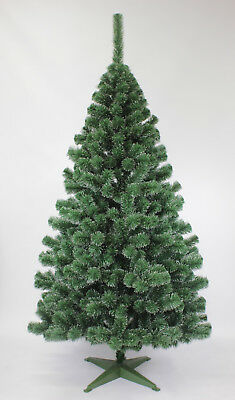 Luxury Christmas Tree Boxed Green Pine Bushy 5 size Fir Frosted Snow Covered