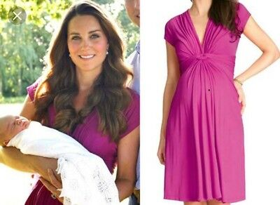 Seraphine Knot Front Maternity Dress Size 8