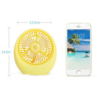 Charging small fan USB rechargeable portable desktop fan office home fan