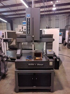"""Brown and Sharpe Validator CMM 52"""" x 42"""" Table with Renishaw Touch Probe"""