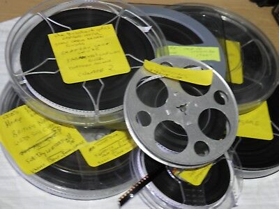 Standard 8 Mm Home Movie Film, Over 2000 Ft,  Good Condition From Around The 60S