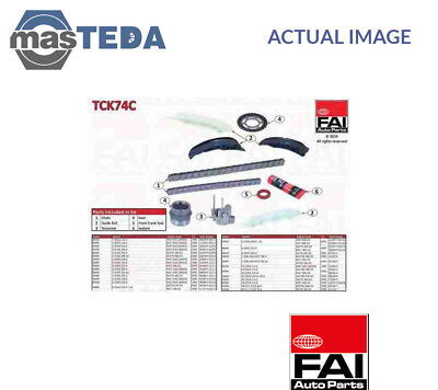 Engine Timing Chain Kit Fai Autoparts Tck74C G New Oe Replacement