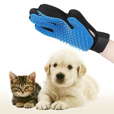 Pet Glove Dog Cat Bath Grooming Washing Clean Massage Fur Cleaning Hair Brush