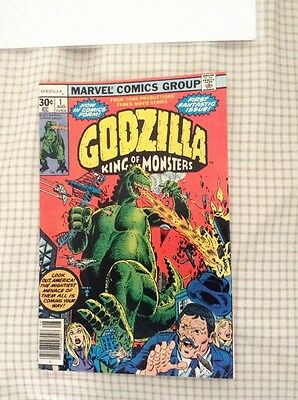 Godzilla 1-- HIGH GRADE. NM-..MARVEL GREAT BOOK..-SEE PICS.-..KING OF MONSTERS