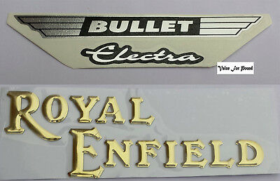 Royal Enfield Logo Badge Sticker Decal Bullet Electra