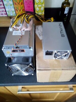Antminer A3 Bitmain  815 GH/s Blake(2b) - SiaCoin Miner and bitmain power supply