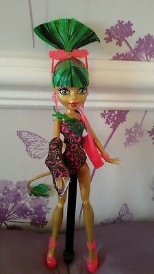 *Monster High Beautiful Jinafire Long Swim Class Doll Fab Condition*