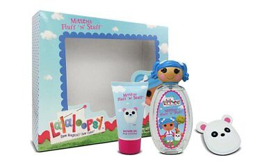 Lalaloopsy Mittens Fluff 'N' Stuff Cute Coffret Eau De Toilette Spray Trio Set