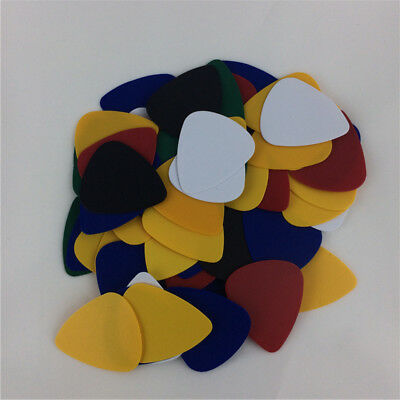 New 100X Acoustic Electric Bass Ukulele Guitar Picks 0.46mm Thickness