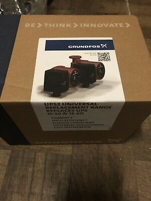 Grundfos UPS2 15-50/60 130 Selectric Replacement Pump 5m 6m 98334549 *NEW*