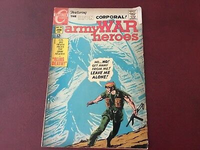 Vintage Comic Book The Iron Corporal Army War Heros C 1968 June