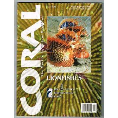 Coral Magazine August/September 2004 MBox3306/E Lionfishes - Belize