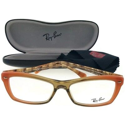 035a8fb5b6bf2 Ray Ban RX5255-5487 Highstreet Women Multicolor Frame Clear Lens Eyeglasses  NWT