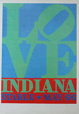 Robert Indiana Lithograph Stable Love 1978