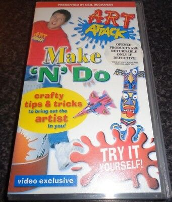 Art attack make n do rare 2001 uk contender kids childrens vhs art attack make n do rare 2001 uk contender kids childrens vhs solutioingenieria Images