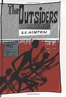The Outsiders by S. E. Hinton (2007, Hardcover, 40th Anniversary Edition) NEW