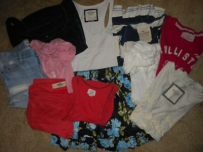 Hollister-Abercrombie & Fitch 10 Pc Lot Junior Size Small, 1