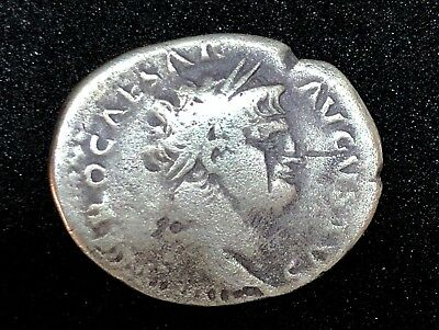 ROMAN EMPIRE NERO 54-68 A.D. AR DENARIUS 2.73gr 15.7mm /920/TJ
