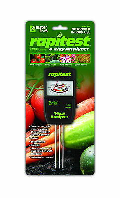 RAPITEST 4 WAY 1880 SOIL LAWN FLOWER PLANT TEST METER GARDEN TESTER pH NPK