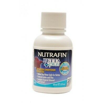 2x Nutrafin Betta Tap Water Conditioner 60ml - 2 for £4.25