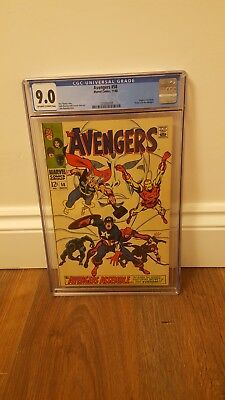 Avengers #58. cgc 9.0. ( 2nd appearance of Vision)