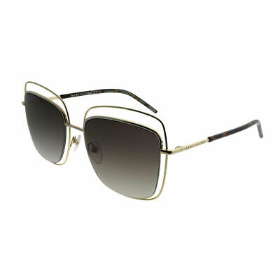 Marc Jacobs MARC 9 S APQ Gold Dark Havana Metal Square Sunglasses 54mm 3fbb43062a7f