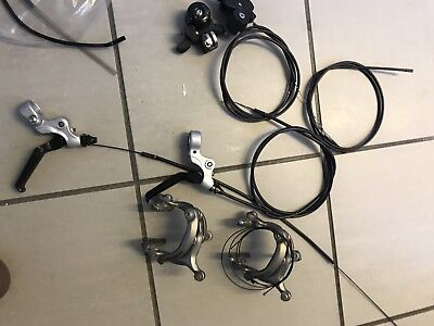Brompton Brakes Complete, Plus 6 Speed Shifters / used / good condition