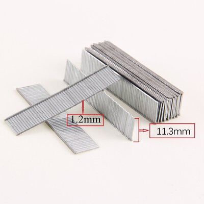 1000Pcs F10 Staples 10mm Length Rustproof Nails For Electric Nails Staple Gun kk