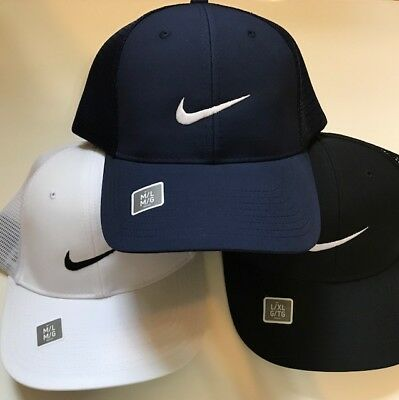 c9b92d3a1c540 NIKE 727038 DRI-FIT Golf Hat Cap Unisex Black White Navy Gray Green ...