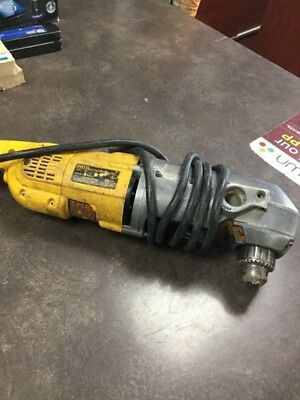 "1/2"" Dewalt 11.5 Amp Dw124 Corded Right Angle Drill (Lam015836)"