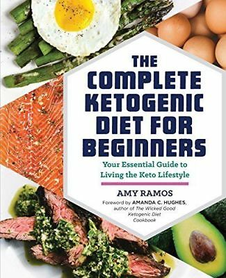 The Complete Ketogenic Diet for Beginners essential Keto Guide Best book NEW