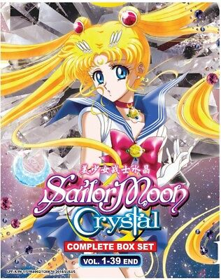 Animation Sailor Moon Crystal Sea.1- 3 Vol 1 - 39 End ENGLISH VERSION Anime DVD