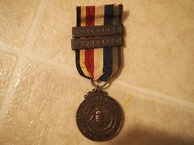 Medal - Military Order Of The Cootie With 1St And 2Nd Degree Bars