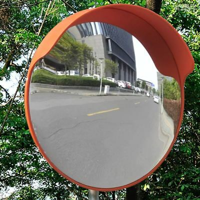 Traffic Safety Outdoor Convex Mirror PC Plastic Polycarbonate Mount on Wall&Post