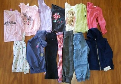 girls winter bundle size 2/3