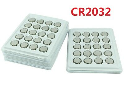 20PCS CR2032 CR 2032 3V Coin Button Cell Battery For Watch Toy Remote DO