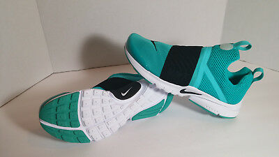 (NEW) Nike Presto Extreme (GS) Girls Jade Black And White 870022 300 size 7Y