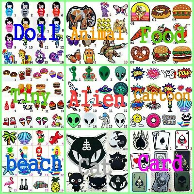 Bullet Game Super Bill Iron on Patch Sew Embroidered Characters cartoon