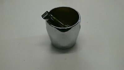 Vintage Alessi Ice Bucket and Tongs Stainless Steel 1959