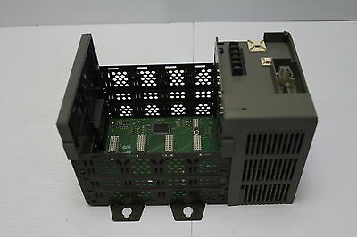 Allen Bradley 1746-A4 Ser B with 1746-P2 Ser C 4 slot rack and Power Supply Used
